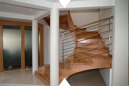 fabrication escaliers bois Pont-de-Roide